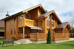 Особенности брусовых домов