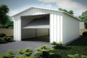 Преимущества сборных гаражей из металлоконструкций